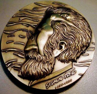弗洛伊德诞辰150周年纪念大铜章