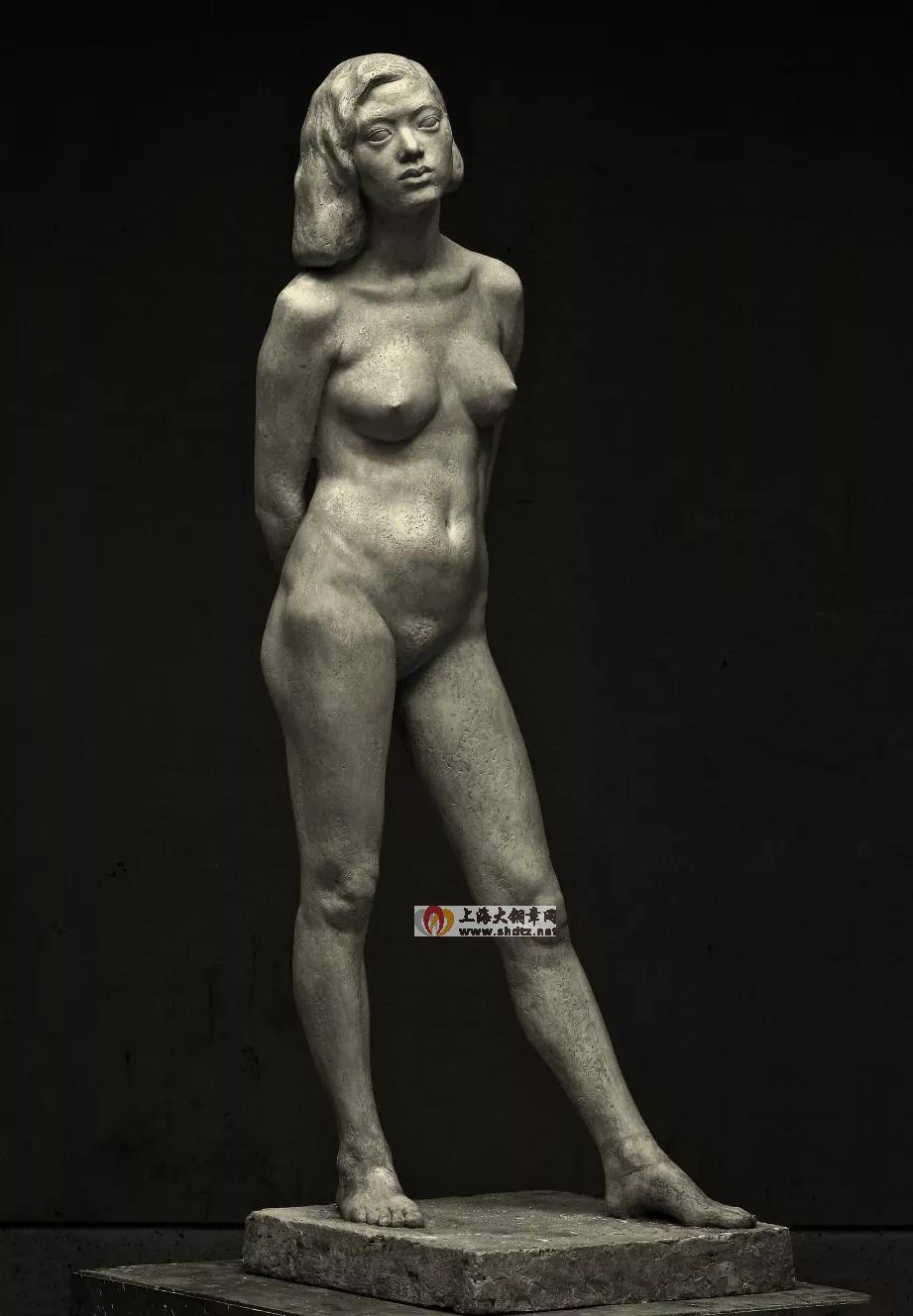 女人体 / 翟庆喜 / 160×53×56cm / 玻璃钢 / 1992
