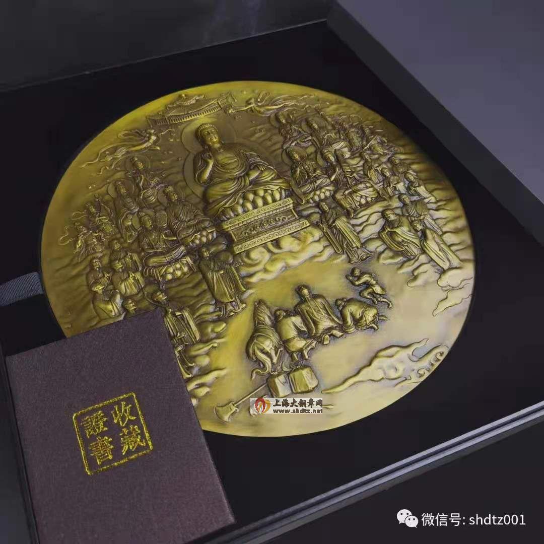 新品预定:西游记之《取得真经》300mm原模单面浇铸